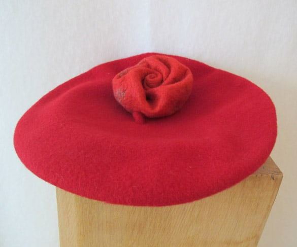 filzrose-rot